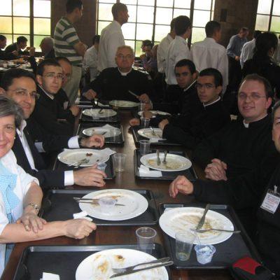 Almuerzo de compañeros Sao Pablo Brasil