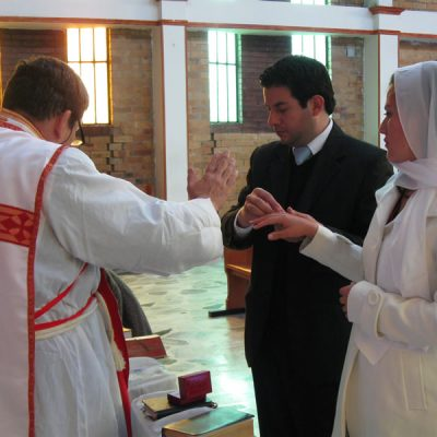 Celebrando el Sacramento del Matrimonio - Bogotá Colombia