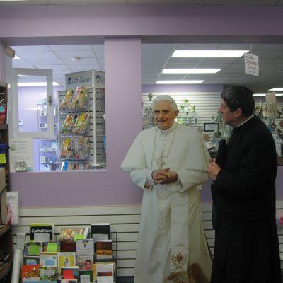 Con Benedicto XVI - Desmoine Iowa EEUU