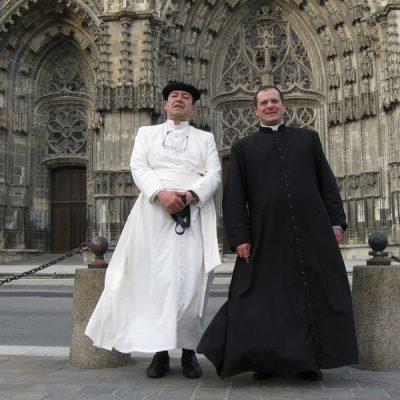 Con el Padre Carusi - Tours Francia