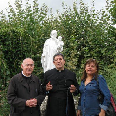 Con el Padre Muñoz en Argentona1 España