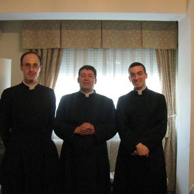 Con el Padre Orazabal Madrid-España