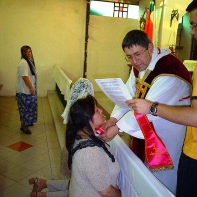 Consagración Inmaculado corazón de María - Santiago de Chile