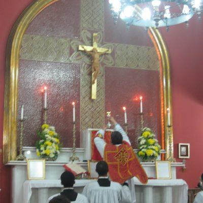 Misa Colegio San Mauro1 Sao Pablo Brasil