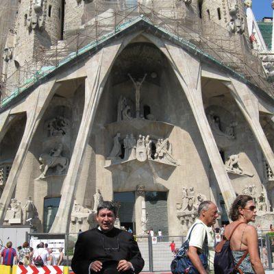 Sagrada familia Gaudi Barcelona España