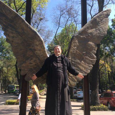 Alas en Bosque de Chapultepec en México