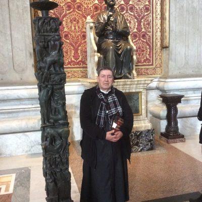 Catedra de San Pedro en Roma