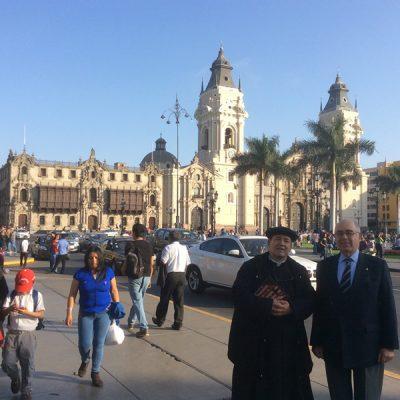En Lima capital de Perú