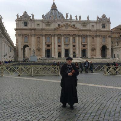Plaza San Pedro en Ciudad del Vaticano