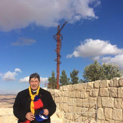 Serpiente de bronce Monte Nebo Israel